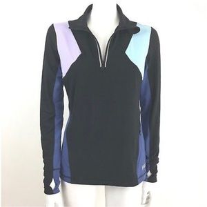 Fila Sport S Color Block Workout Running Pullover